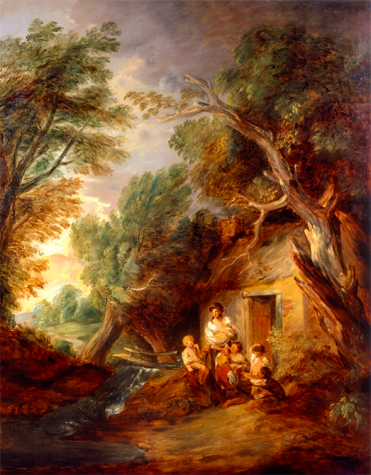 "Huntington library features Gainsborough's ""Cottage Door"""