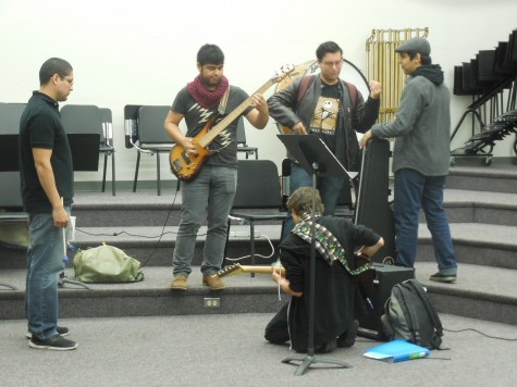 Workman Mill Industrial Orchestra prepares for performance