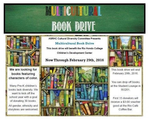 ASRHC Cultural Diversity Committee presents Multicultural Book Drive