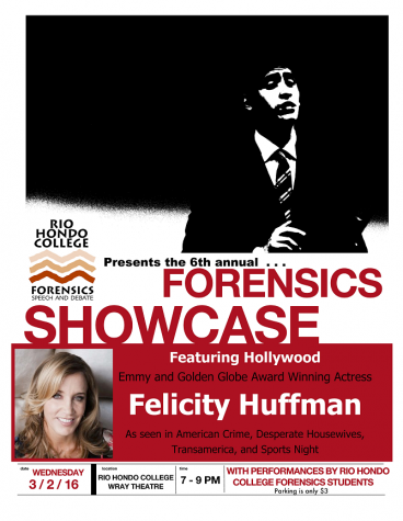 RHC Forensics Speech and Debate presents 6th Annual Forensics Showcase