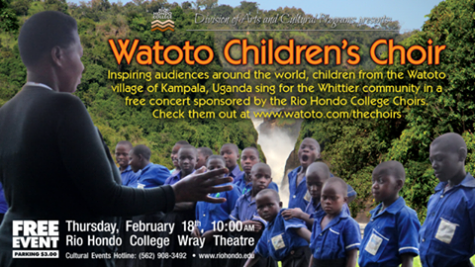 Watoto Children's Choir set to perform at Wray Theater
