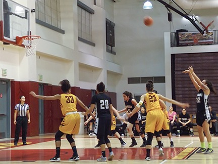Women's basketball team lose play off game 65-54 at PCC
