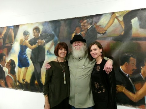Capturing Constant Change and Movement: Richard Lopez's Art Reception