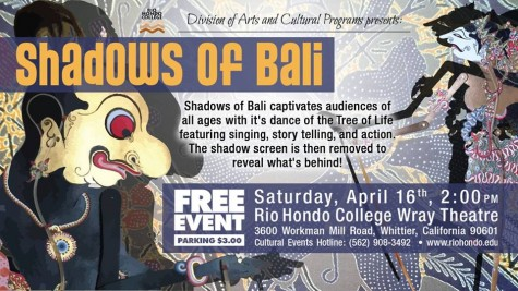 Weekend Pick (On Campus): Shadows of Bali