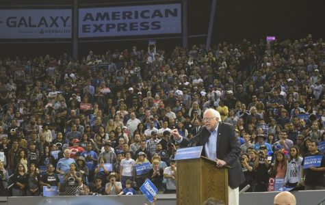 Sanders remains optimistic at Southern California rally, inspiring supporters