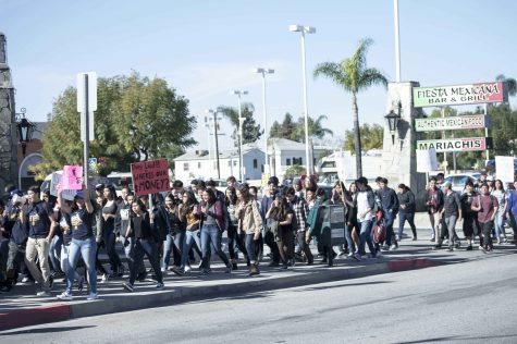 Montebello High School Students protest District Policy