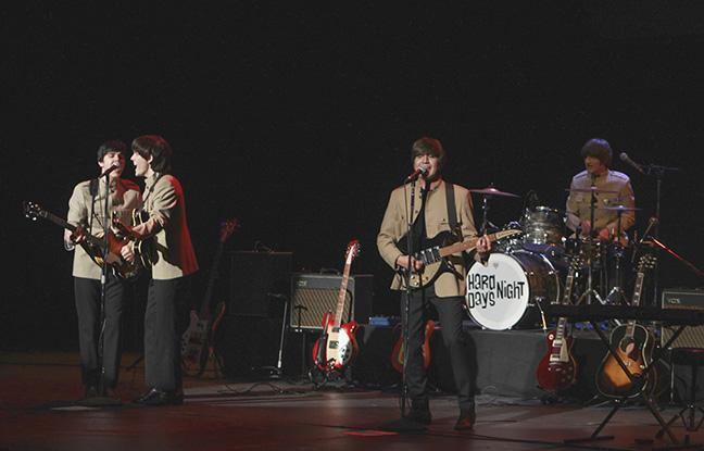 Beatles+Tribute+band+%22Hard+Day%27s+Night%22+performed+in+the+Wray+Theater.%0A
