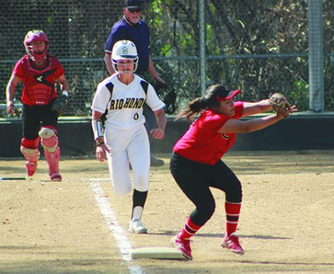 Lady Roadrunners Softball Team Com from Behind to Beat Chaffey College in the Bottom of the 7th Inning
