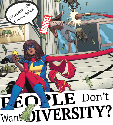 People Don't Want Diversity?: Marvel Sales Drop