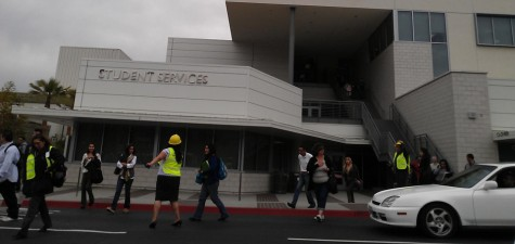 Under the suspicion of an armed-male student at Rio Hondo College, all students, staff, and faculty were directed to evacuate to nearby assembly points while sheriffs searched the campus.