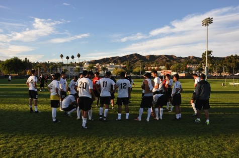 Men's soccer team loses playoff to Mt. Sac