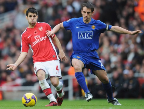 Manchester United and Arsenal play a scoreless draw