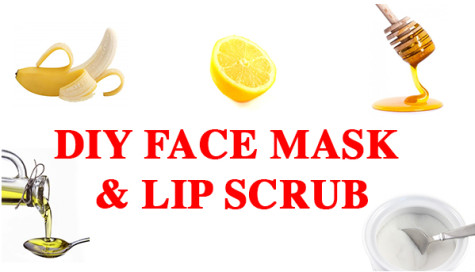 DIY Face Mask & Lip Scrub