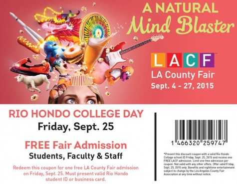 Rio Hondo College is going to the Fair!