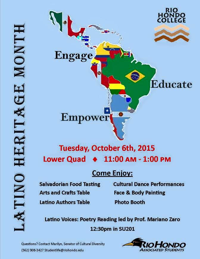 Latino Heritage Month At Rhc El Paisano