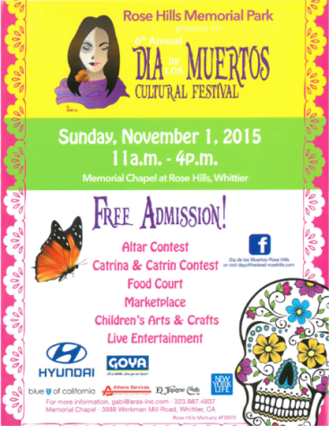 Rose Hills Memorial Park set to host 6th annual 'Dia De Los Muertos Cultural Festival'