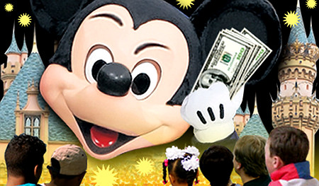 Disneyland's greed still won't thin the herd