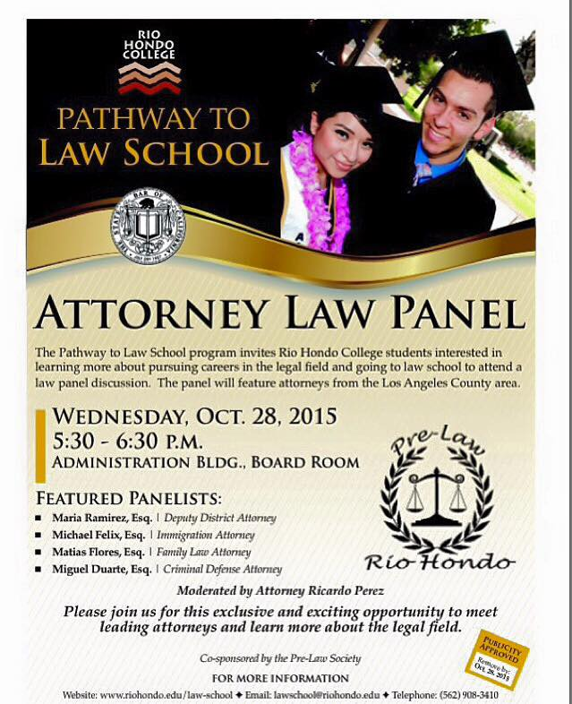 Pathway to Law School program to hold panel on campus