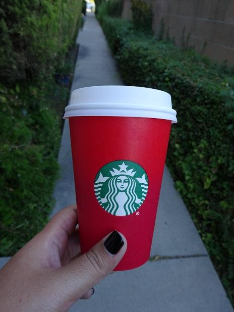 This+Starbucks+holiday+cup+this+year+is+causing+controversy+on+social+media+and+the+all+across+the+web.
