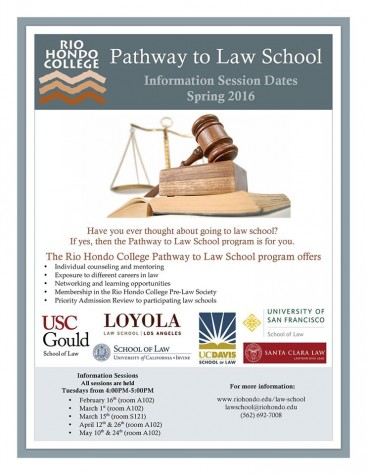 RHC posts Pathway to Law School Spring 2016 dates