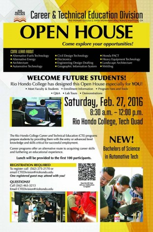 RHC Career and Technical Education Division hosting open house