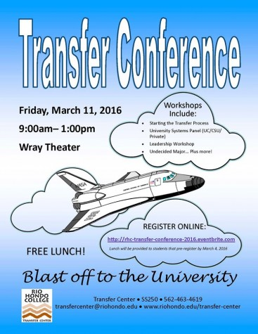 Transfer conference to be held on campus