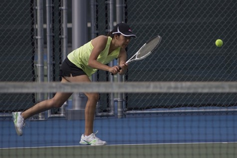 Women's tennis team gets win over LBCC