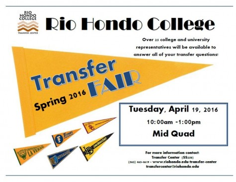 Spring 2016 Transfer Fair to be held on campus April 19