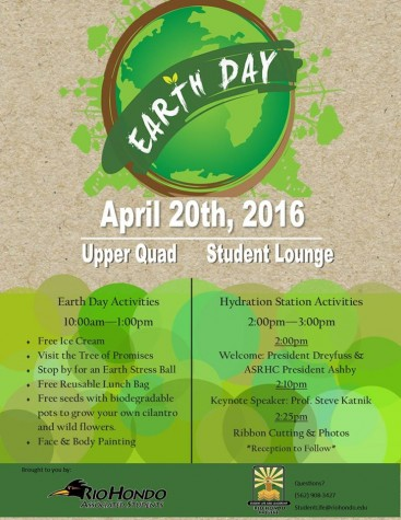 RHC hosting Earth Day activities on campus