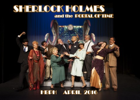 'Sherlock Holmes and the Portal of Time' is a refreshing mix of characters and storytelling