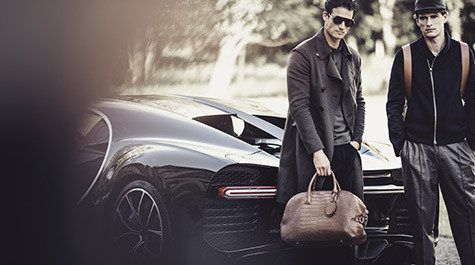 Giorgio Armani and Bugatti together?