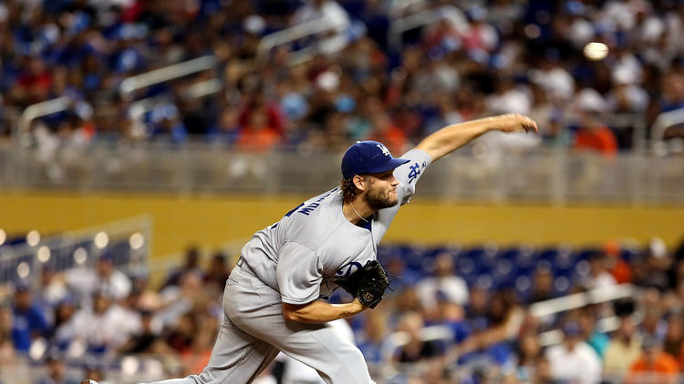 +Kershaw+pitched+a+great+game+Friday+night+against+the+San+Fransisco+Marlins+at+Marlins+Stadium.
