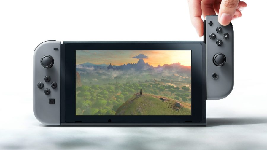 This is the Nintendo Switch in tablet form, one of its many transformative capabilities.