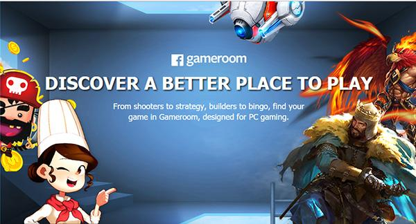 Facebook introduces its home for the casual gamers, Gameroom.