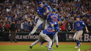 Cubs won the World Series 8-7 in the seventh game.