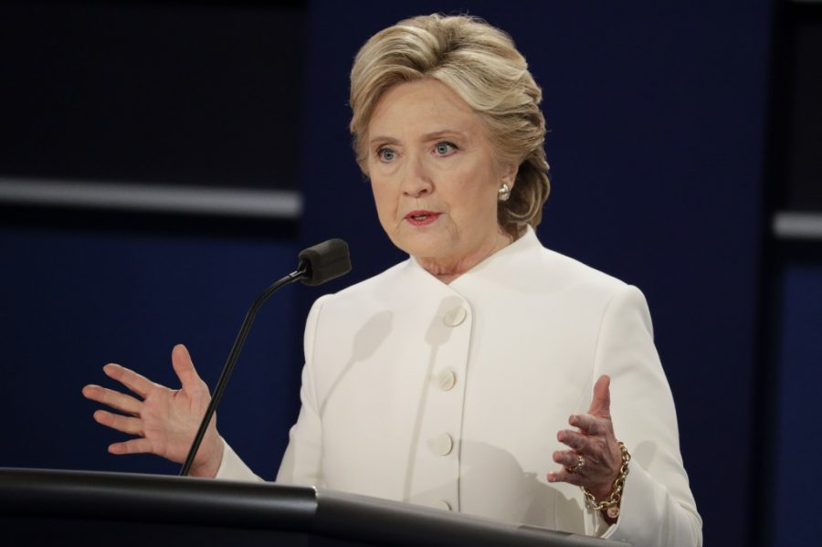 Hillary+Clinton+laid+out+policy+proposals+at+the+third+debate.