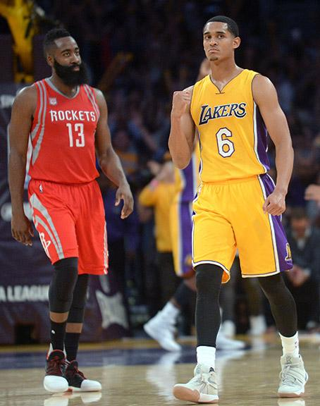 Jordan Clarkson was key in the win over the Houston Rockets, contributing 25 points for the Lakers.