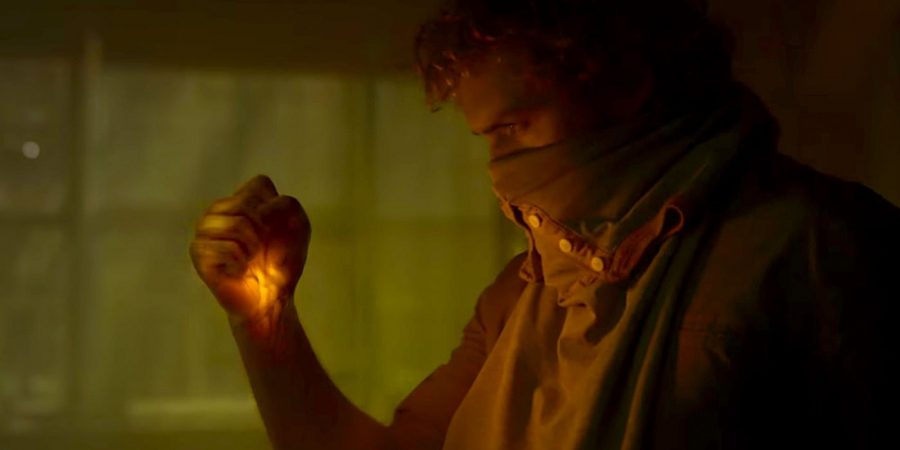 Danny Rand, played by Finn Jones, embraces the power of the