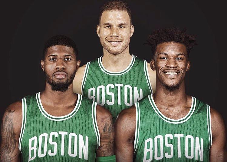 The Boston Celtics are trying to land either Paul George, Blake Griffin, or Jimmy Butler before Thursday's NBA trade deadline.