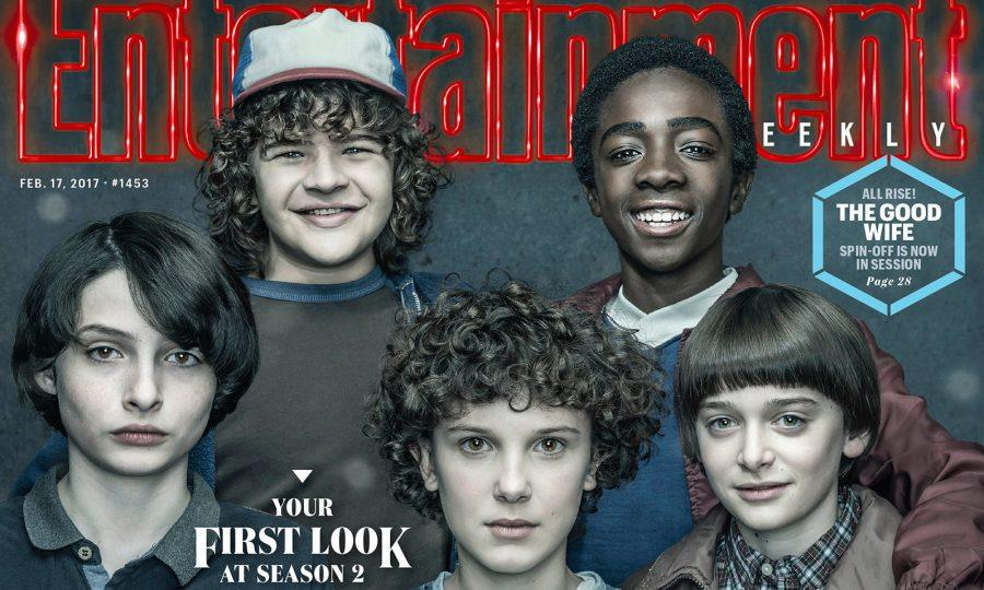 %27Stranger+Things%27+fan-favorites+Eleven%2C+Mike%2C+Dustin%2C+Lucas%2C+and+Will+grace+the+cover+of+Entertainment+Weekly%27s+February+magazine+issue.