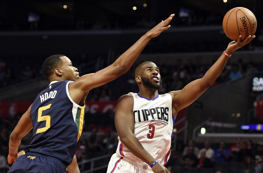 Rodney+Hood+of+the+Jazz+and+Chris+Paul+of+the+Clippers+will+duel+again+tonight+when+their+teams+meet.