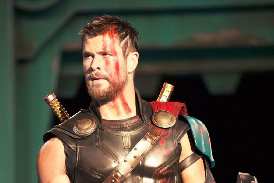 Thor's new look in Ragnarok
