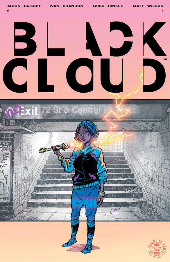 Cover of Black Cloud #1, with art by Greg Hinkle & Matt Wilson