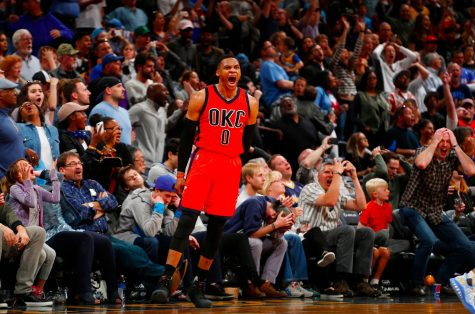 Oklahoma City Thunder's Russell Westbrook sets NBA record with 42nd triple-double