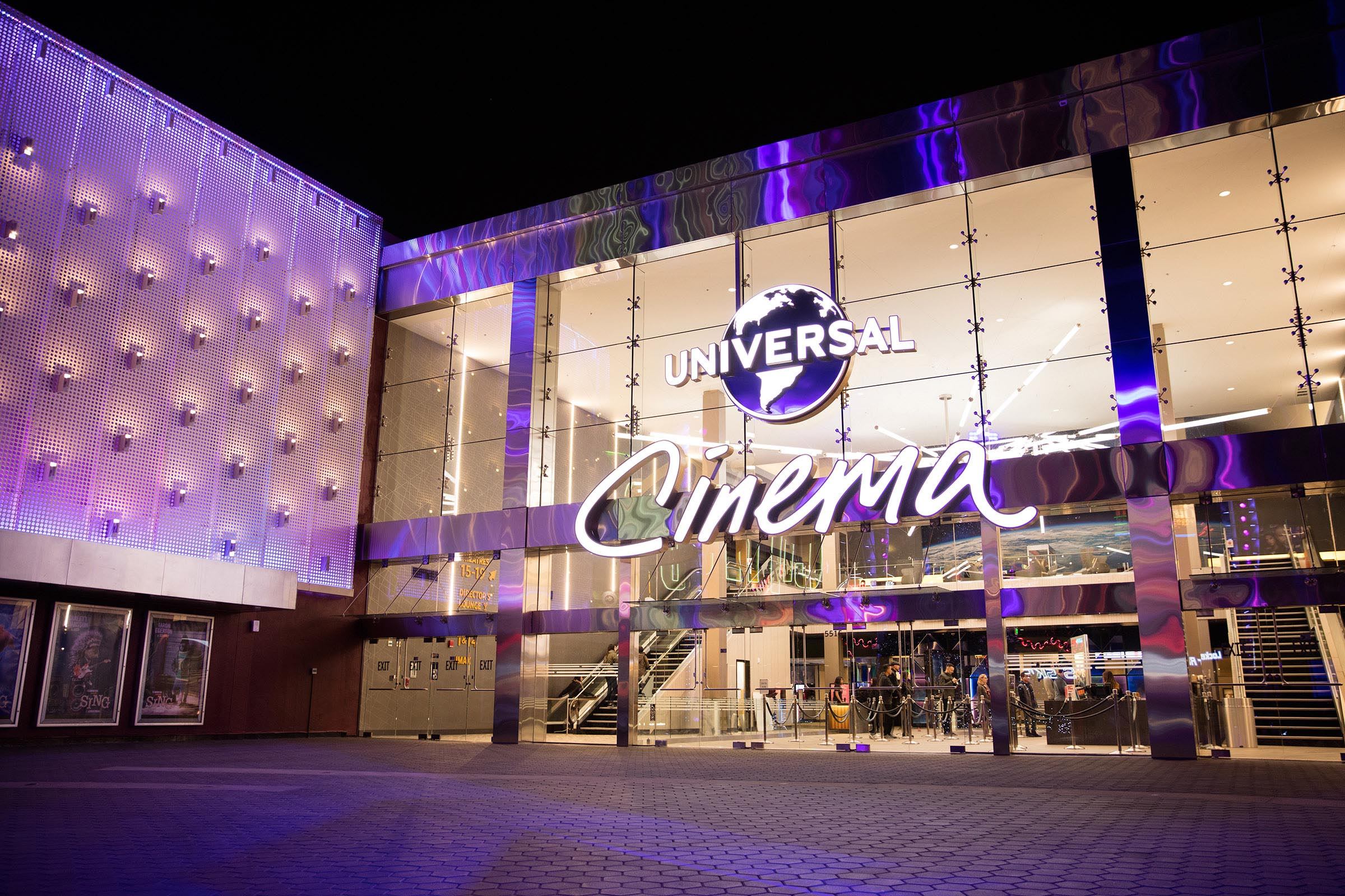 Newly renovated Universal Cinema at Universal CityWalk