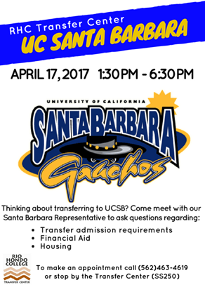 UC Santa Barbara on Campus April 17