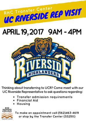 UC Riverside on Campus April 19
