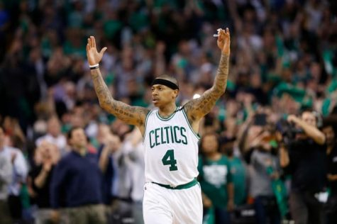 Boston Celtics' Isaiah Thomas Scores 53 on Late Sister's Birthday