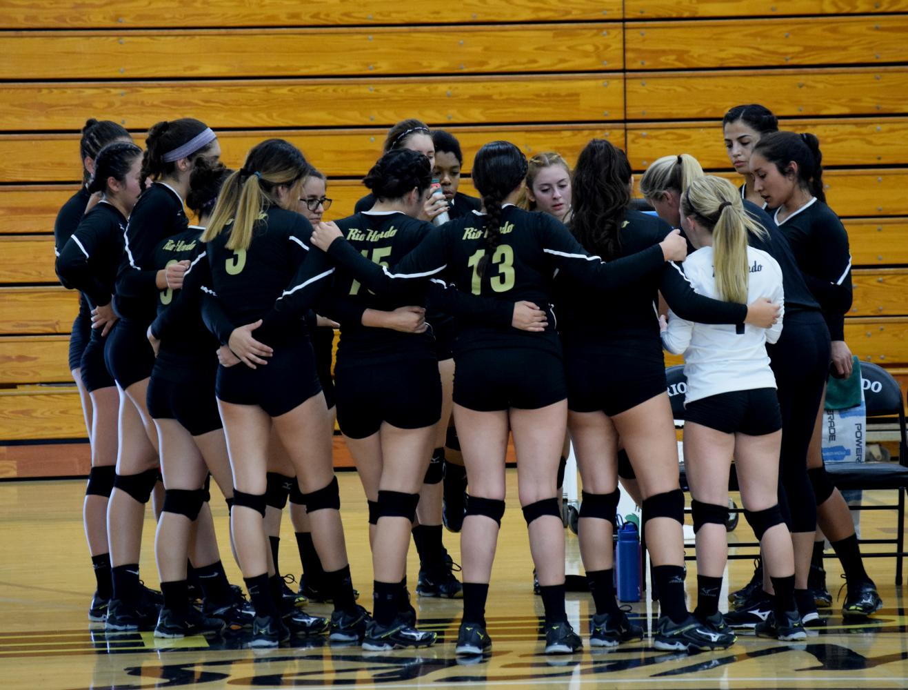 The Rio Hondo women's volleyball team has had a tough time finding consistent play this season.