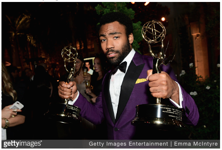 """Atlanta"" Creator Donald Glover Makes History at 2017 Emmy's Along with Others"